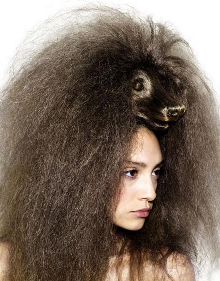 Poodle Hairpiece by Nagi Noda