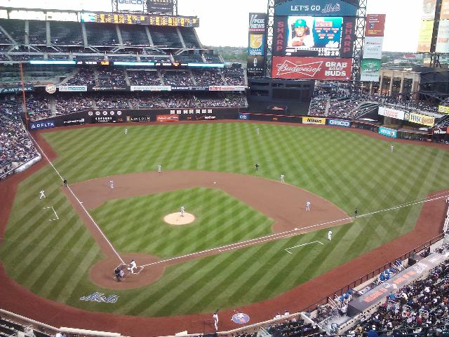 NY Mets vs. LA Dodgers at Citi Field in Queens