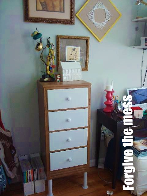 New Dresser in its New Home