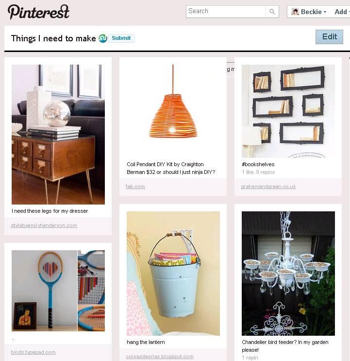 Pinterest Pinboard