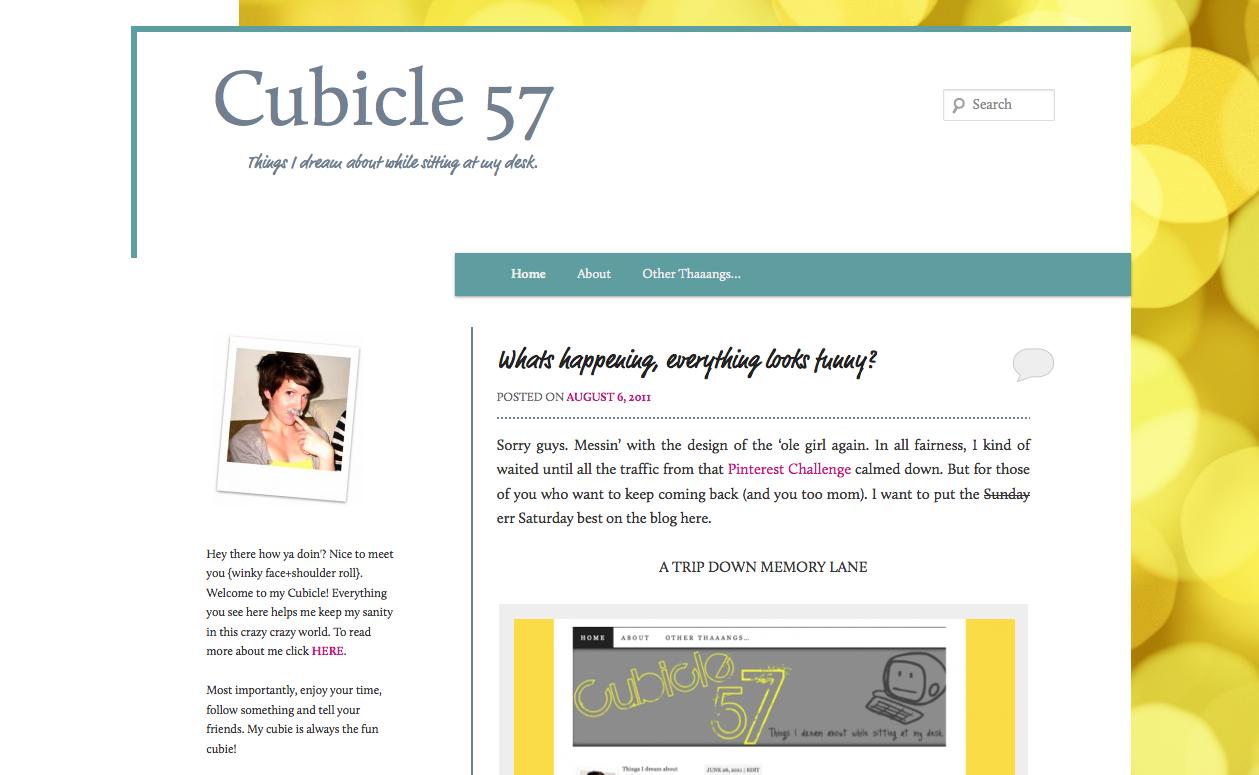 brand new blog re-design 3.0