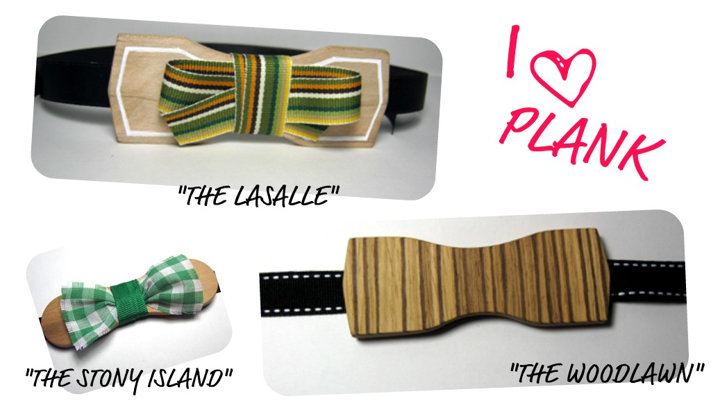 Bowties from Plank